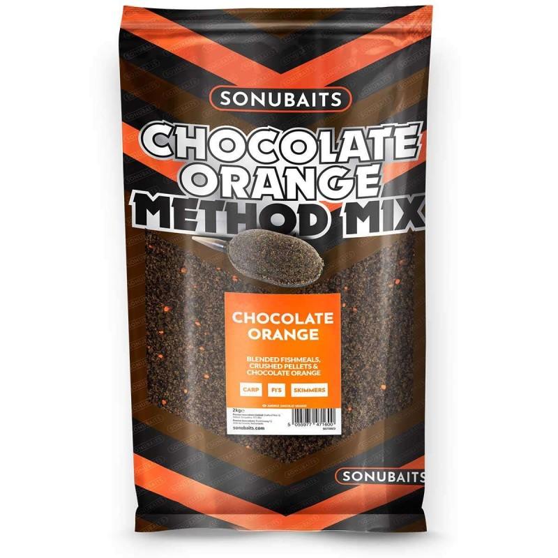 Pastura Sonubaits Chocolate & Orange Method Mix 2 Kg.