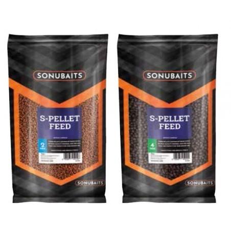 Pellet Sonubait 2mm S-Pellet Feed