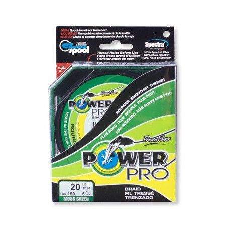 Braid Power Pro Moss green mt.135