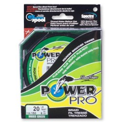 Braid Power Pro Moss green mt.455