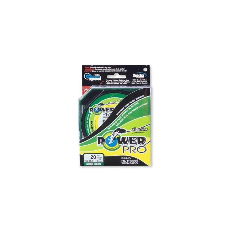 Braid Power Pro Moss green mt.455
