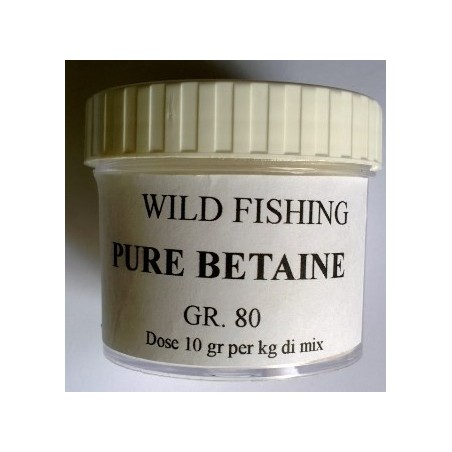 Betaina in polvere pura Wild Fishing gr.80